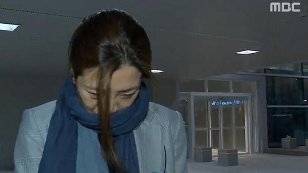 Cho Hyun-min, a senior vice president at Korean Air Lines and a daughter of its chairman Cho Yang-ho, arrives at Incheon International Airport