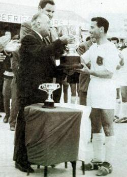 Edwin Schembri was captain at Valletta FC before quitting the game in 1963 when he was named Footballer of the Year.