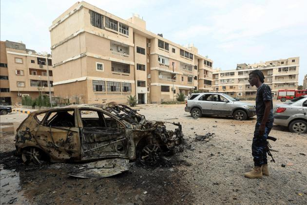 Child among four killed in Tripoli rocket attack