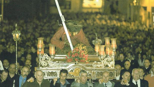 March 23, 2005: The beginning of the national Via Crucis at St Lawrence Street, Vittoriosa.