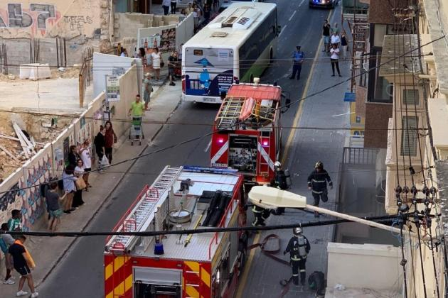 Fire at Sliema salon is quickly brought under control