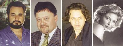 From left: Baritone Marco Chingari, Tenor Rumen Doikov, Baritone Felix Serraclara, and Soprano Birgit Eger.