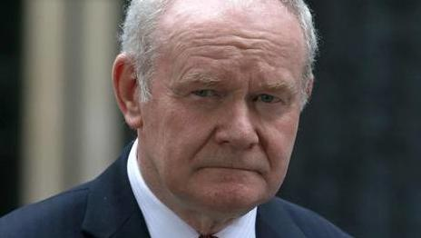 NORTHERN IRELAND - Veteran Northern Irish politician Martin McGuinness dies aged 66