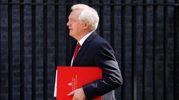 David Davis will spearhead the UK's negotiating efforts. Photo: Reuters
