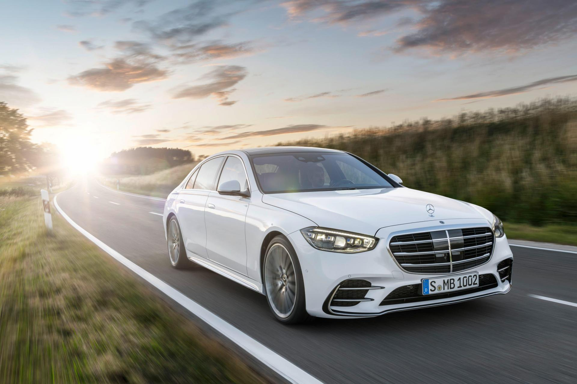 The S-Class sits at the top of the range of saloons offered by Mercedes.