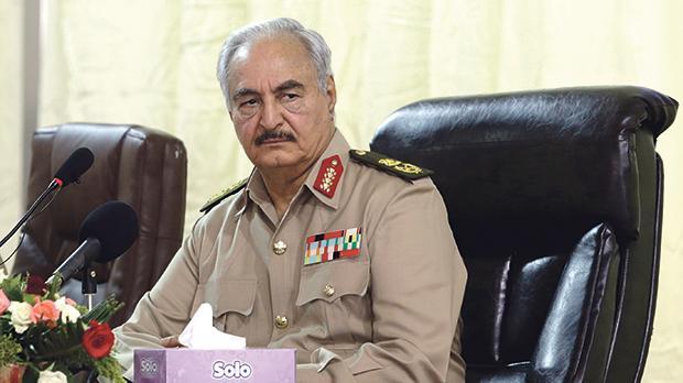 Khalifa Haftar. Photo: Esam Omran Al-Fetori/Reuters