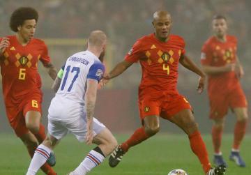 Batshuayi double gives Belgium 2-0 win over Iceland