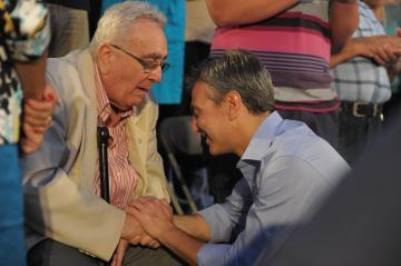 File photo of PN leader Simon Busuttil (right) with former Tourism Minister Michael Refalo. Photo by Jason Borg