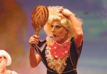 Alan Montanaro as Dame Vera Tastee.