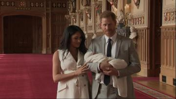 It's Archie -  Prince Harry, Meghan name their baby boy