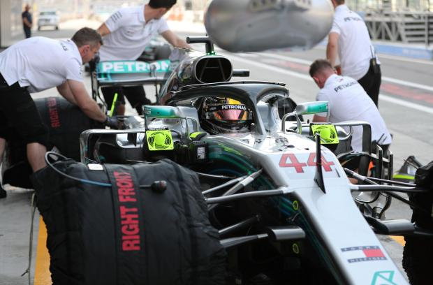 Lewis Hamilton took pole position for the Abu Dhabi Grand Prix.