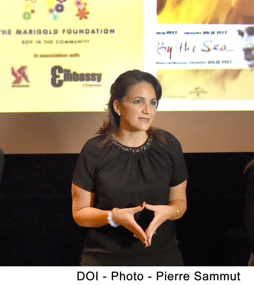The PM's wife chairs the Marigold Foundation. Photo: DOI.