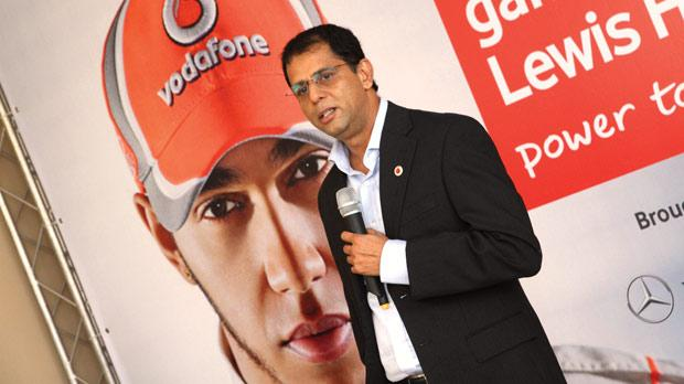 Balesh Sharma launches the Raise Your Game initiative last week.