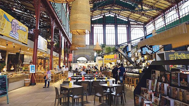 San Lorenzo food market