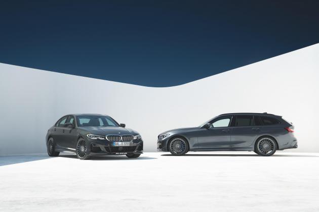Alpina showcases new D3 S