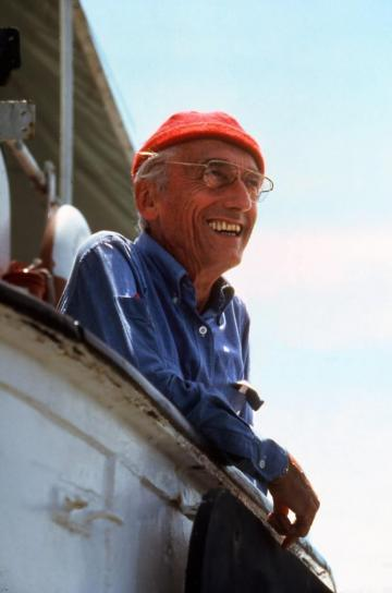 Jacques-Yves Cousteau.