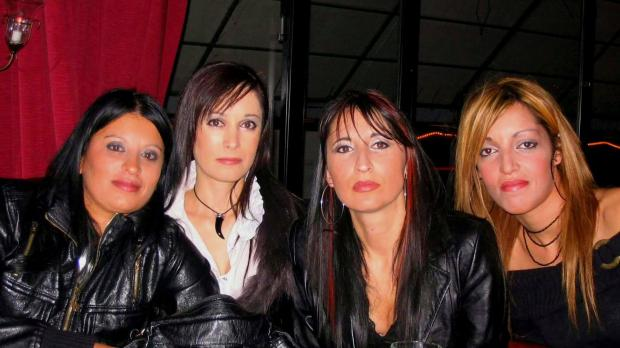 From left: Josette, her sister Liliana, cousin Janie and friend Romina. Photo: Josette Agius