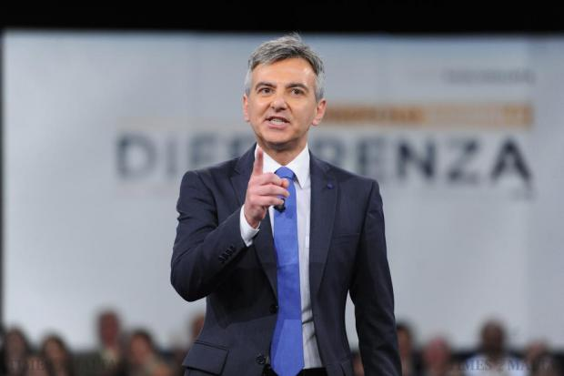 PN leader Simon Busuttil addresses the PN general council on May 24. Photo: Jason Borg