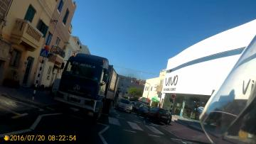 Watch: When 'rubbish' driving standards mean just that