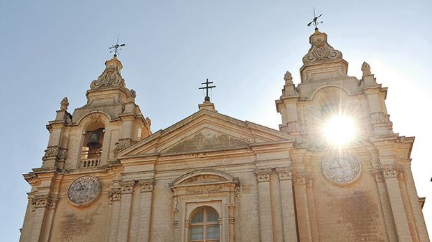The Mdina Cathedral