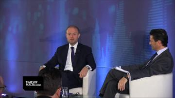 Watch: Malta metro 'only feasible in Sliema, unless we grow' - Muscat  | Muscat reacted to an EP report which criticised tax regimes such as Malta's. Video: Chris Sant Fournier