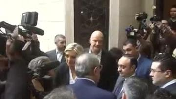 Le Pen refuses to wear headscarf to meet Lebanon's Grand Mufti