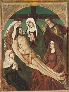 The Deposition by Antonello da Messina.