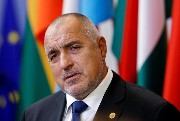 Bulgaria's Prime Minister Boyko Borisov. Photo: Reuters