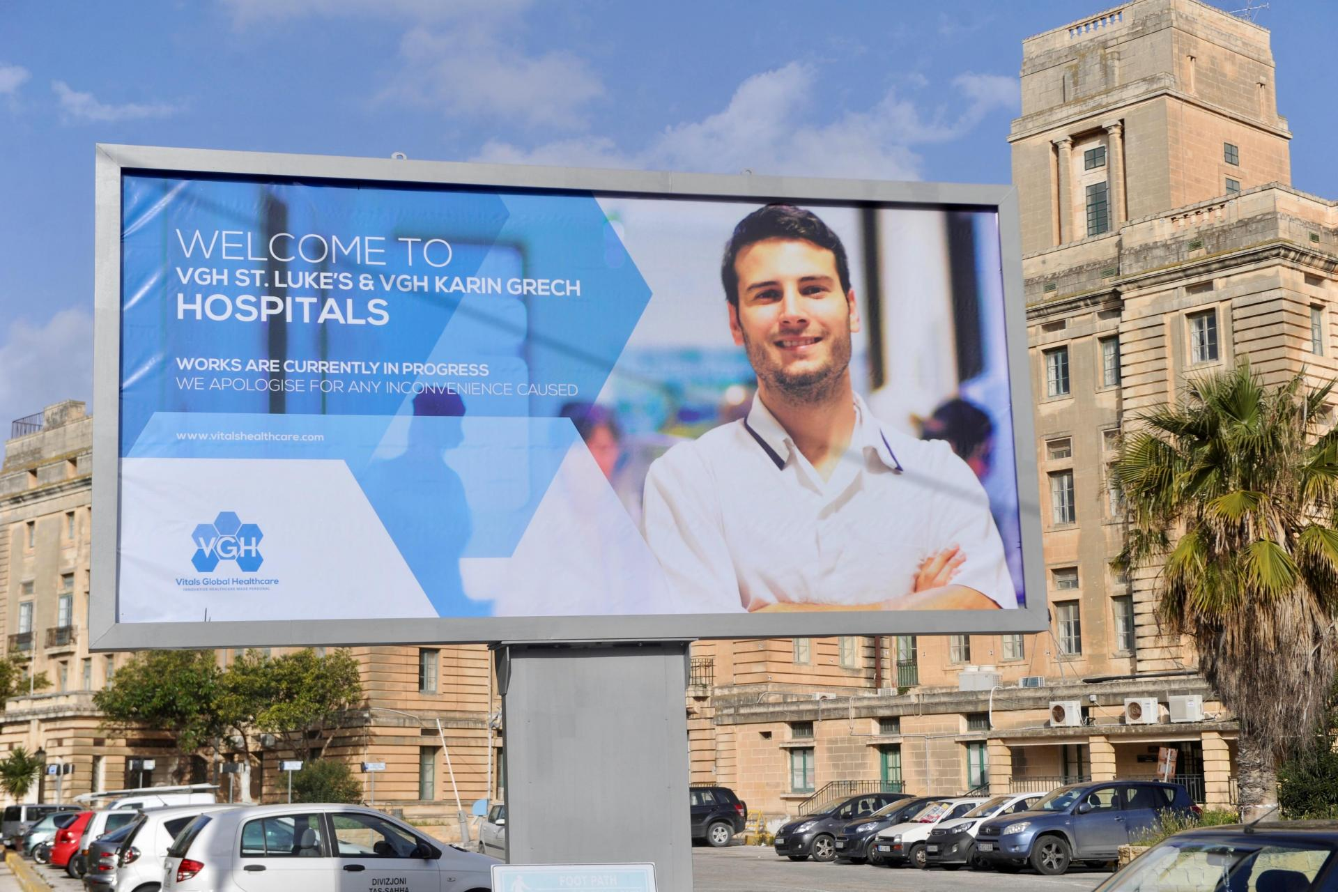 Vitals Global Healthcare ended up selling their hospitals concession on after just two years. Photo: Steve Zammit Lupi
