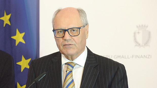 Finance Minister Edward Scicluna. Photo: Matthew Mirabelli