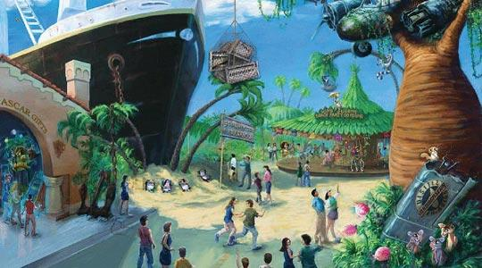 Madagascar: A Crate Adventure is themed after DreamWorks Animation's blockbuster movie Madagascar, and will become a mega-attraction when Universal Studios Singapore opens this month.