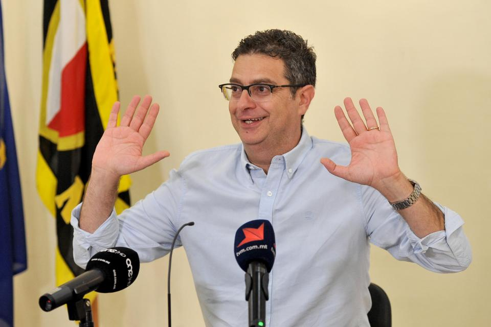 Opposition leader Adrian Delia in 2017. Photo: Mark Zammit Cordina