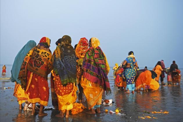 Coronavirus fails to deter India's massive Ganges pilgrimage