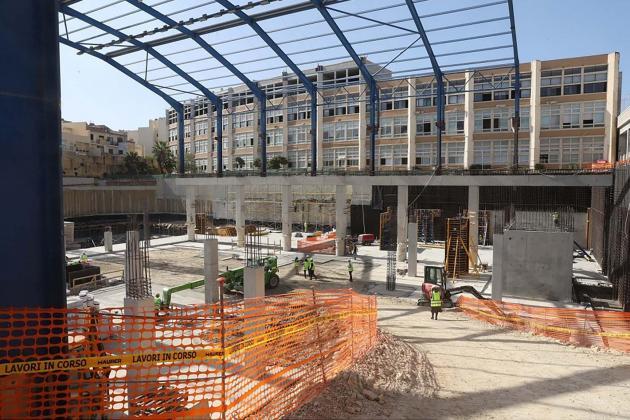 Works on Gozo's Aquatic Sports Complex progressing well - Minister