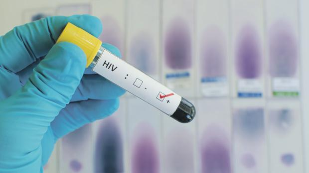 A record high of 60 people became infected with the HIV virus, according to the latest figures.