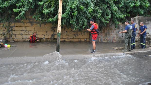 Rescuers check for missing persons - Conrad Pisani mynews@timesofmalta.com