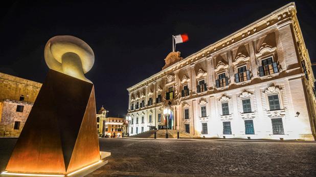 Castille Place, Valletta. Photo: Emma Tranter