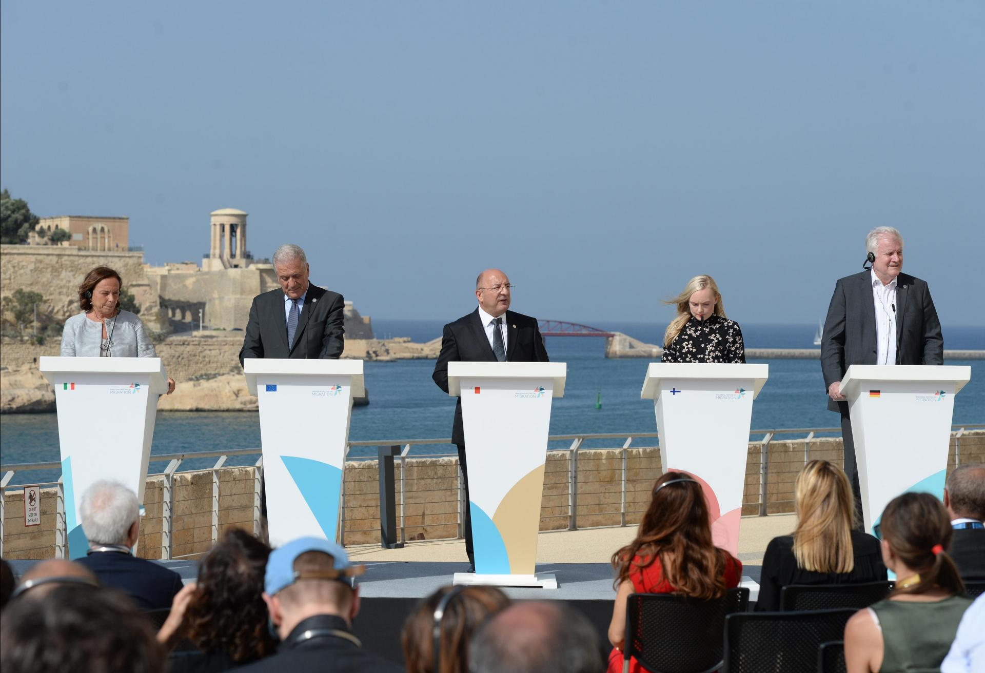 Malta tried to broker a voluntary migration deal last September, but efforts did not bear fruit. Photo: AFP