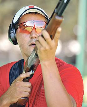 William Chetcuti... targeting a place in Double Trap semi-finals in Rio de Janeiro. Photo: Chris Sant Fournier