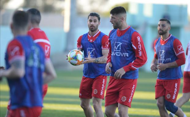 The Malta national team will be playing in Group F of the European qualifiers. Photo: Matthew Mirabelli