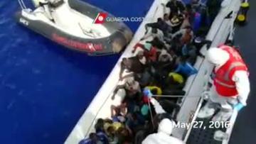 Between 700-900 migrants may have died at sea this week - NGOs