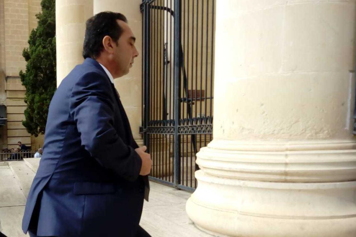 Shortly after Melvin Theuma says he was commissioned to arrange the murder of Daphne Caruana Galizia, he met Keith Schembri and was given a government job. Photo: Matthew Xuereb