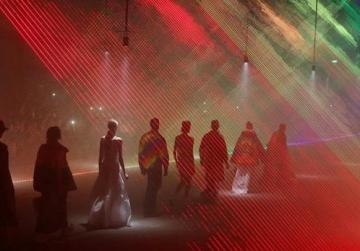 Burberry celebrates new collection with multi-sensory installation