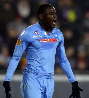 Duvan Zapata... set to leave Napoli.