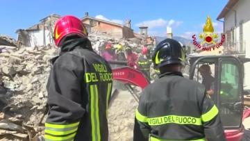 Maltese rescuers locate earthquake bodies