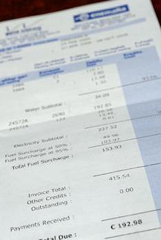 utility bills should be classified as