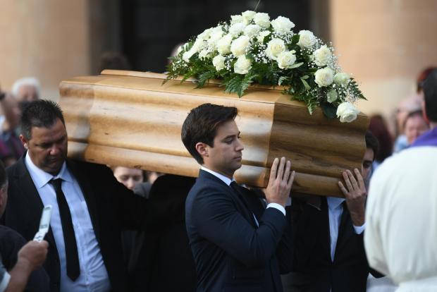 Daphne Caruana Galizia was murdered on October 16.