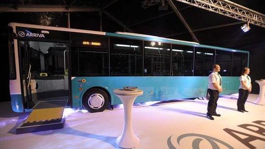 The first Arriva bus was unveiled during the signing of what was meant to be a 10-year agreement in November 2010. Arriva's service started in July 2011.