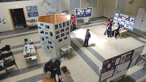 Exhibition organiser Rita Debattista is urging more parents to attend the exhibition currently on show at the St Margaret College Secondary School, Cospicua.