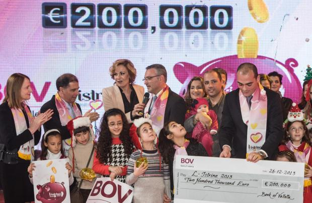 The donation by the BOV Piggybank campaign